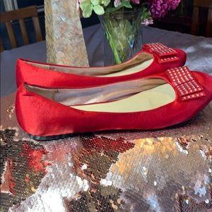 Aldo Shoes - ALDO red flat shoes